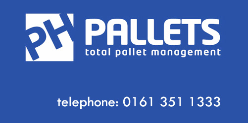 PH Pallets Logo We Supply New Wooden Pallets, Used Wooden Pallets and Heat Treated Pallets