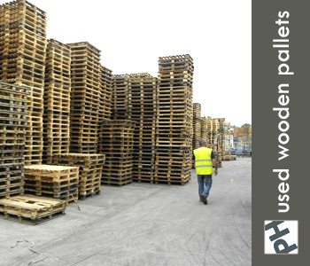 PH Pallets Used Wooden Pallets